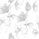 Seamless pattern with flowers Stock Photos