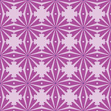 Seamless pattern with flowers ornament Stock Images