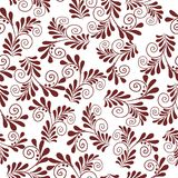 Seamless pattern with flowers and plants Stock Photos