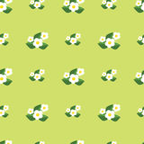 Seamless pattern with flowers. Pretty floral background print Stock Photo