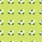 Seamless pattern with flowers. Pretty floral background print Royalty Free Stock Photo