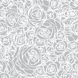Seamless pattern with flowers roses Royalty Free Stock Photo