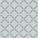 Seamless pattern of flowers. Seamless pattern of stylized geometric flowers Stock Photo