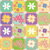 Seamless pattern with flowers. Vector seamless pattern with flowers Stock Image