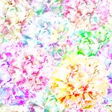 Seamless pattern with flowers. Vector, EPS 10 Stock Photo