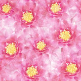 Seamless pattern with flowers. Vector, EPS 10 Royalty Free Stock Photo