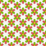 Seamless pattern with flowers. Vector illustration. Stock Images