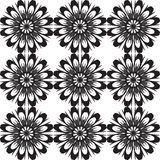 Seamless pattern with flowers. Vintage texture. Royalty Free Stock Photography