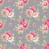 Seamless pattern with flowers Royalty Free Stock Image