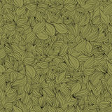 Seamless pattern foliage Royalty Free Stock Photos