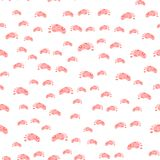 Seamless pattern with footprints. Baby Wallpapers Royalty Free Stock Image