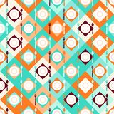 Seamless pattern with forks, spoons and plates in Stock Photos