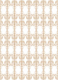 Seamless pattern in the form of forged lattice Stock Photo