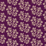 Seamless pattern in the form of openwork twigs Royalty Free Stock Photography