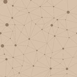 Seamless pattern in the form of web Royalty Free Stock Image