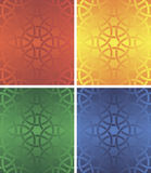 Seamless pattern four colour Stock Images