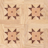 Seamless pattern, fragment of parquet floor Royalty Free Stock Images