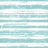 Seamless pattern with  fresh blue stripes Stock Image