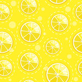 Seamless pattern with fresh fruit citrus Royalty Free Stock Photos
