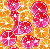 Seamless pattern of fruit Royalty Free Stock Photos