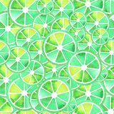 Seamless pattern of fruit Royalty Free Stock Images