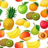 Seamless pattern fruit Royalty Free Stock Photography