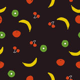 Seamless pattern,fruit. Vector background design for fabric and decor Stock Image