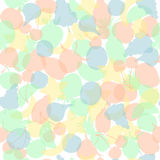 Seamless Pattern with  Fruits. Seamless Pattern with Translucent Multi Colored Fruits Made in Simplistic Flat Style. Pastel Motley Background Fit for Textile Stock Image