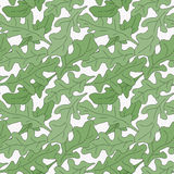 Seamless pattern of garden stuff Stock Images