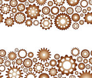 Seamless pattern gear Royalty Free Stock Photography