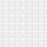 Seamless pattern, gear. Vector background design for fabric and decor Stock Photos