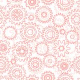 Seamless pattern with gears Royalty Free Stock Images