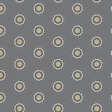 Vector seamless pattern with gears Royalty Free Stock Photography