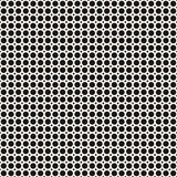 Seamless pattern, geometric background, circles & rings. Vector monochrome seamless pattern, repeat geometric tiles, background with small circles & rings Royalty Free Illustration