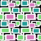 Seamless pattern geometric background Royalty Free Stock Images