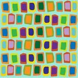 Seamless pattern. geometric background. Hand drawn navajo fabric. Modern abstract wallpaper. Vector illustration. Seamless pattern Stock Photography