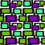 Seamless pattern geometric background. Seamless pattern with geometric elements background Stock Image