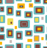 Seamless pattern geometric background Stock Photography