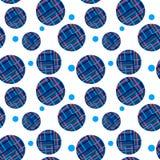 Seamless pattern of geometric circles Royalty Free Stock Photo