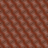 Seamless  pattern geometric  with circles Royalty Free Stock Images