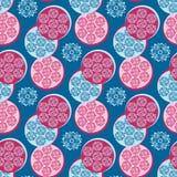 Seamless pattern with geometric. Seamless pattern with a circular geometric pattern Royalty Free Stock Photo