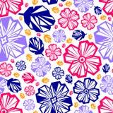 Seamless pattern. Seamless geometric pattern, colorful and stylized vector illustration