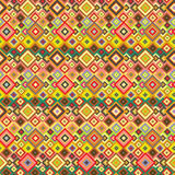 Seamless pattern with geometric elements. Seamless hippie pattern with geometric elements Stock Photography