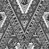 Seamless pattern with geometric elements. Royalty Free Stock Image
