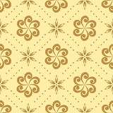 Seamless pattern with geometric elements - vector Royalty Free Stock Image