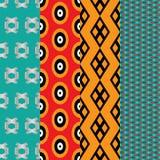 4 seamless pattern Royalty Free Stock Photo