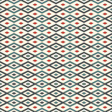 Seamless pattern with geometric figures. Repeated diamond ornamental background. Rhombuses and lines motif. Stock Image