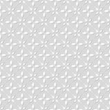 Seamless pattern. Geometric floral background. Stock Image