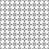 Seamless pattern. Geometric floral background. Stock Photos