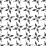 Seamless pattern. Geometric floral background. Stock Images